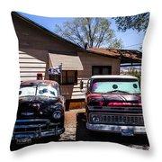 Cars 2 Throw Pillow