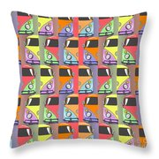 Cars Abstract  Throw Pillow