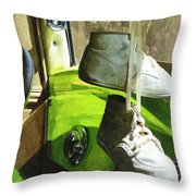 Cars - Baby Shoes Throw Pillow