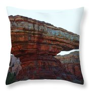 Cars Land Canyon Throw Pillow