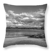 Carsington Beach Throw Pillow