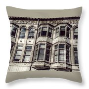 Carson Block Throw Pillow