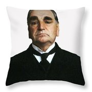Carson The Butler Throw Pillow