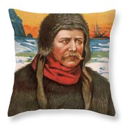 Carsten E Throw Pillow