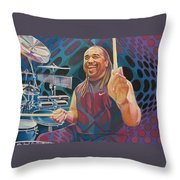 Carter Beauford-op Series Throw Pillow