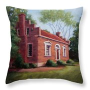 Carter House In Franklin Tennessee Throw Pillow by Janet King