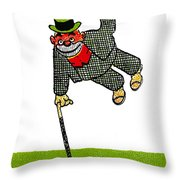 Cartoon 03 Throw Pillow by Svetlana Sewell