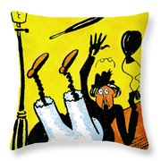Cartoon 07 Throw Pillow