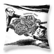 Gordian Knot, 1977 Throw Pillow