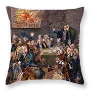 Cartoon: Politicians Throw Pillow