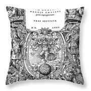 Cartouches, 1572 Throw Pillow