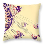 Carussell Throw Pillow
