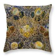 Casa Batllo Tiles Throw Pillow