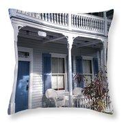 Casa Cayo Huego  Throw Pillow