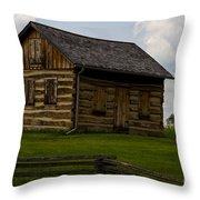 Casa De Batrani Throw Pillow