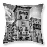 Casa Monica Hotel  Throw Pillow