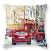 Casa Pinet In Tarbena Throw Pillow