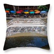 Casa Rio San Antonio Throw Pillow