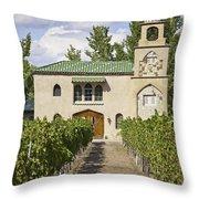 Casa Rodena Winery Throw Pillow