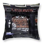 Casa Rosso Amsterdam Throw Pillow