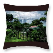 Casa Verde  Throw Pillow