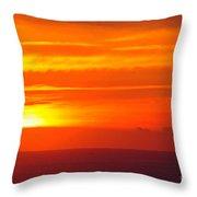 Casablanca Sunset Throw Pillow