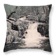 Cascade On Taum Sauk Mountain 2 Throw Pillow