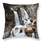 Cascades In Bavaria Throw Pillow