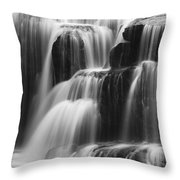 Cascades Of Lower Lewis Falls Throw Pillow
