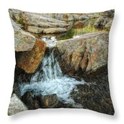 Cascading Downward Throw Pillow