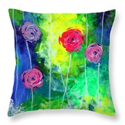 Cascading Light By Jan Marvin Throw Pillow
