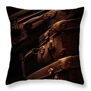 Cases Throw Pillow