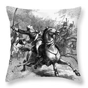 Casimir Pulaski (1748-1779) Throw Pillow