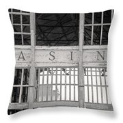 Casino Bw Throw Pillow