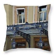 Casino Monte Carlo Throw Pillow