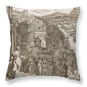 Cassandra Foretells The Trojans Their Throw Pillow