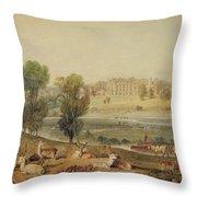 Cassiobury Park, Hertfordshire Throw Pillow