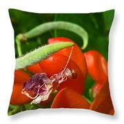 Cast Off The Shackles Of Yesterday Throw Pillow