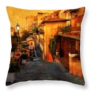 Castel Gandolfo Italy Throw Pillow