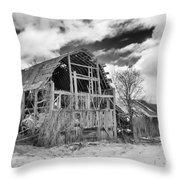Castile Barn Revisited Throw Pillow