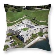 Castillo De San Marcos St Augustine Florida Throw Pillow