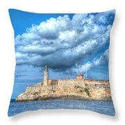 Castillo Del Morro Throw Pillow