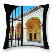 Castillo San Cristobal Throw Pillow