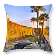 Castillo Sunrise Throw Pillow