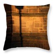 Casting Shadows Throw Pillow