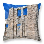Castle And Sky Throw Pillow