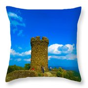 Castle Craig Throw Pillow