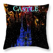 Castle Dreams Throw Pillow