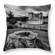 Castle Fraser Throw Pillow