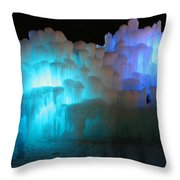 Castle Ghosts Throw Pillow
